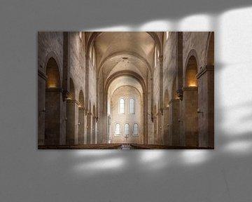 Romanik pur - Abteikirche des Zisterzienserkloster Eberbach von Christian Müringer