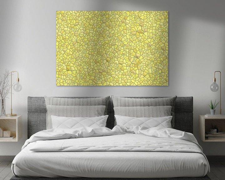 Beispiel: Stein Muster gelb von Marion Tenbergen