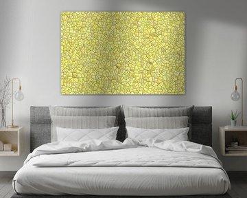 Stein Muster gelb
