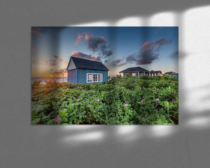 Beispiel: Sonnenuntergang über Aerö von Matthias Nolde