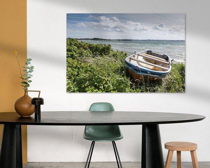 Beispiel: Boot in den Dünen auf Aerö von Matthias Nolde