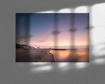 Solitüde bei Sonnenuntergang von Matthias Nolde