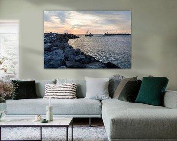 Hvidesande Hafen van Matthias Nolde