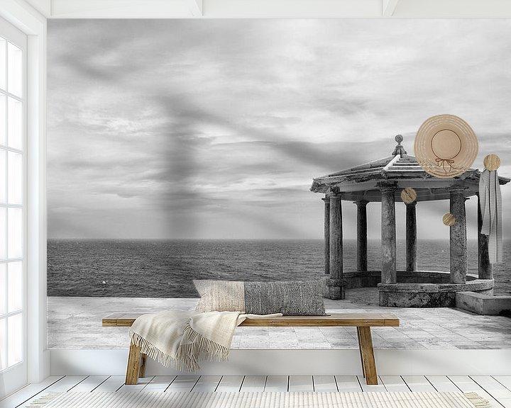 Sfeerimpressie behang: Spaans prieel aan de kust van Jacques Jullens