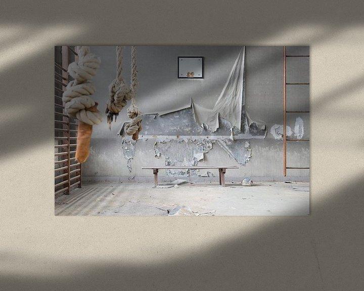 Beispiel: verlassene Turnhalle von Kristof Ven