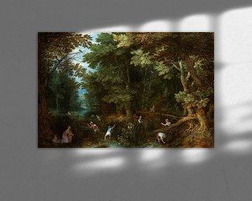 Latona en de Lycische boeren, Jan Brueghel
