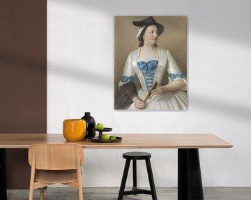 Jeanne-Elisabeth Sellon, Lady Tyrrel, Jean-Etienne Liotard