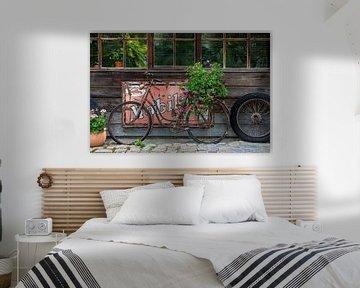 Altes Fahrrad mit Blumen von Tilo Grellmann | Photography