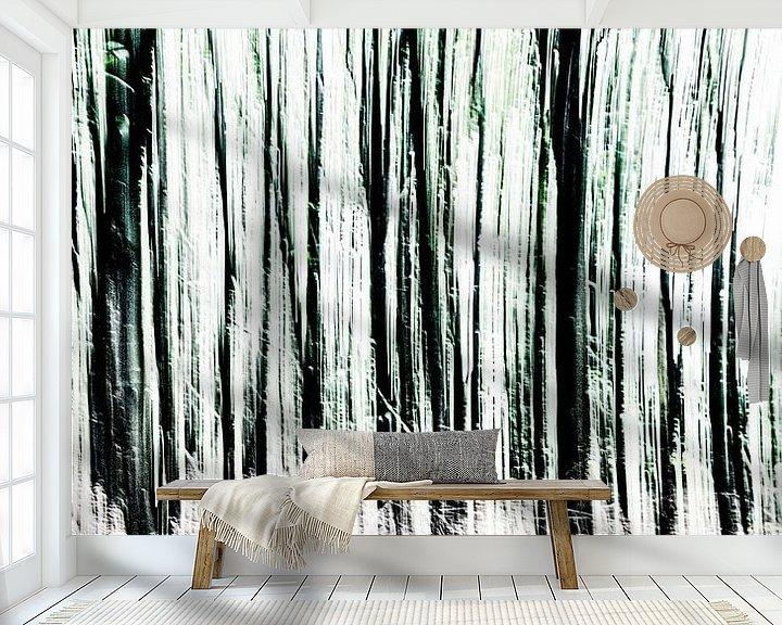 Sfeerimpressie behang: Bomen van Dick Jeukens