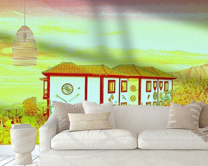 Sfeerimpressie behang: Huis op het platteland van I Kroft