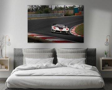 Ferrari FXXK Evo #80 von Bart van der Heijden