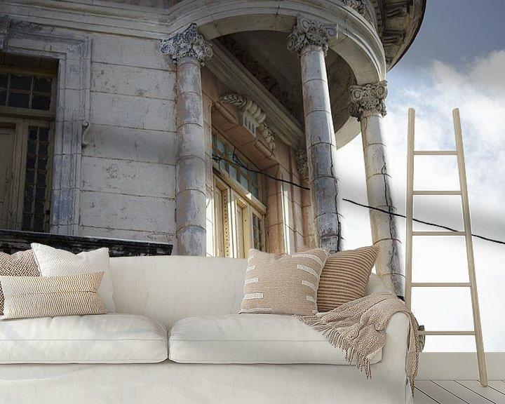 Beispiel fototapete: Altbau mit klassischem Balkon von Karel Ham