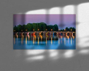 Östra bron, Karlstad, Zweden van Henk Meijer Photography