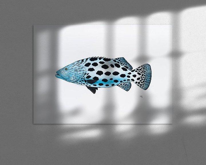 Beispiel: Fisch Serie B von Martino Romijn