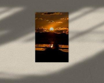 Dünen im Sonnenuntergang von Alexander Wolff