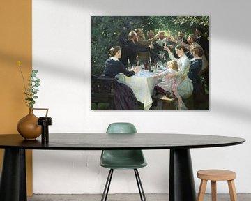 Hip hip hip hourrah ! Parti Artiste, Peder Severin Krøyer