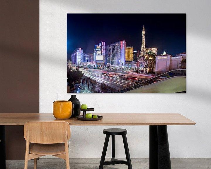 Sfeerimpressie: Las Vegas by night van Hans Jansen