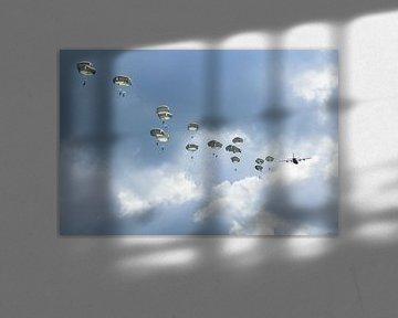 Luftgestütztes Gedenken an die Ginkeler Heide von Tim Wong