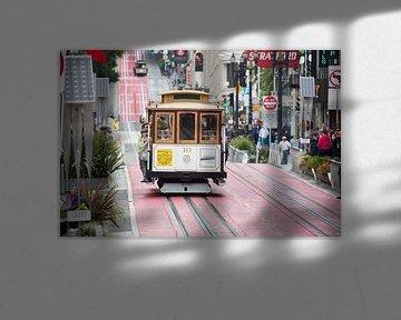 Kabeltram San Francisco in volle glorie von Hans Jansen