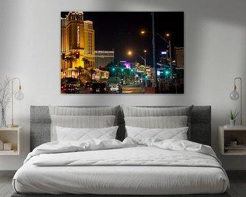Las Vegas by Night sur Hans Jansen