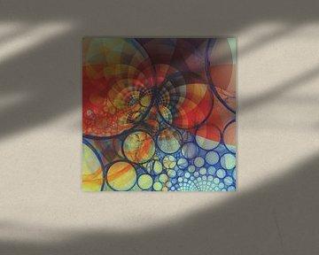 Abstracte samenstelling 383 van Angel Estevez