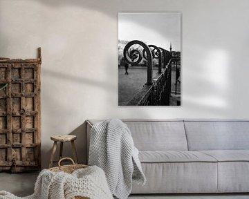 Montmartre, Parijs, in zwart-wit von Erik van Rosmalen