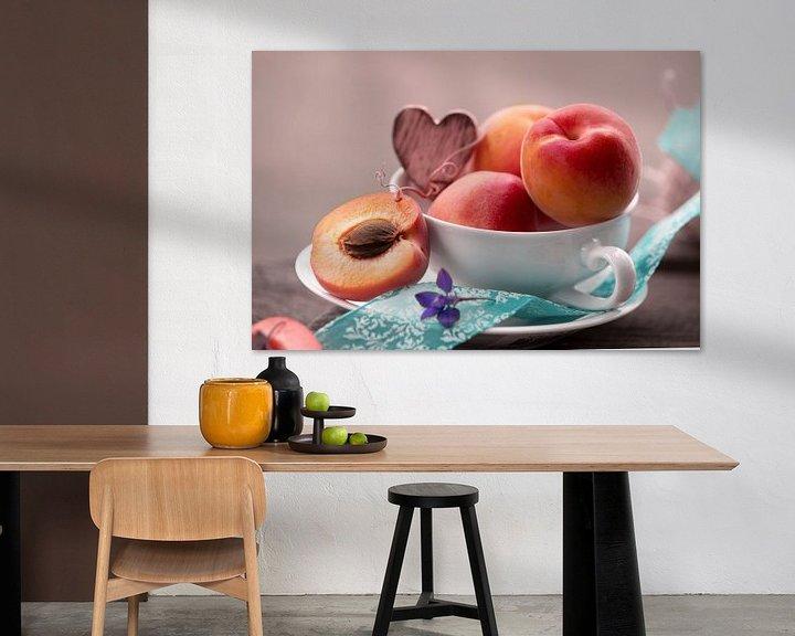 Beispiel: Pfirsich vitaminreicher Genuss zur Sommerzeit von Tanja Riedel