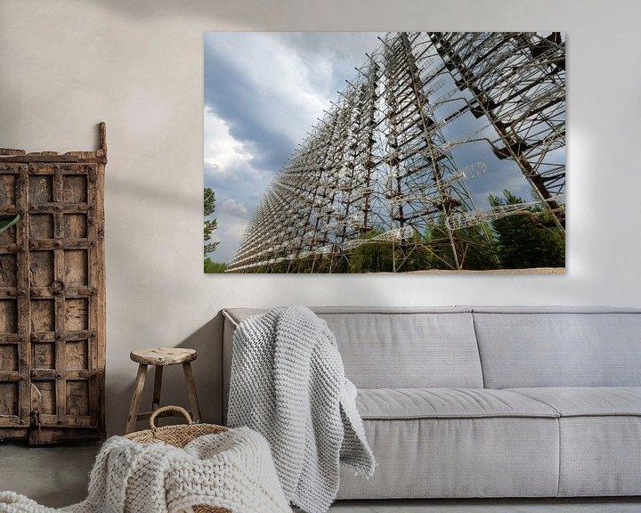 Beispiel: Radarstation Duga in Tschernobyl von UPHA F