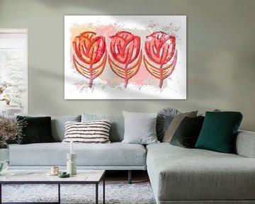 Feeling Flowery together van ART Eva Maria