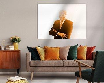 Willem Alexander (oranje) van Niels Knelis Meijer