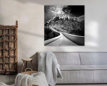 Dorf in Süditalien (schwarz-weiß) von Rob Blok