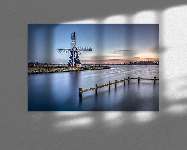 Impression: Aider le moulin sur Wil de Boer