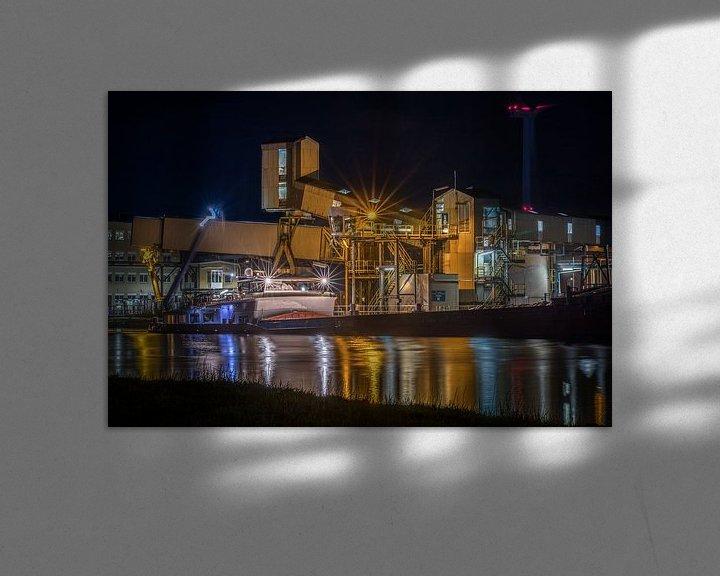 Sfeerimpressie: Chemiepark Delfzijl van Wil de Boer