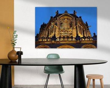 Lantaarn van de Domtoren in Utrecht van Donker Utrecht