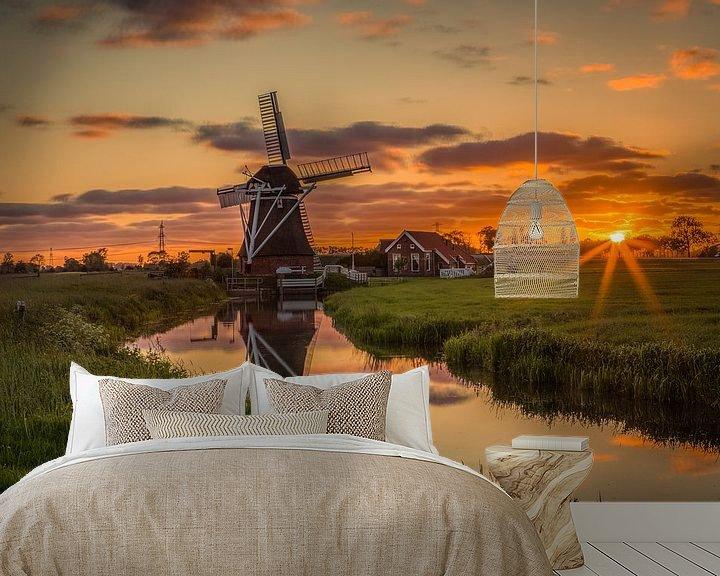 Beispiel fototapete: Mill De Jonge Held Held Sleep still von Wil de Boer