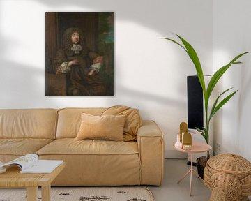 Porträt von Jan Boudaen Courten, Caspar Netscher