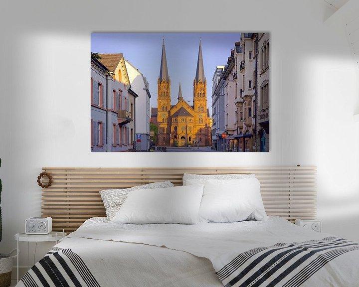 Beispiel: Johanneskirche Freiburg von Patrick Lohmüller