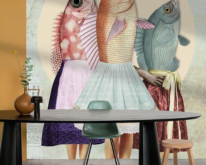 Impression: 3 poissons appelés Wanda sur Marja van den Hurk