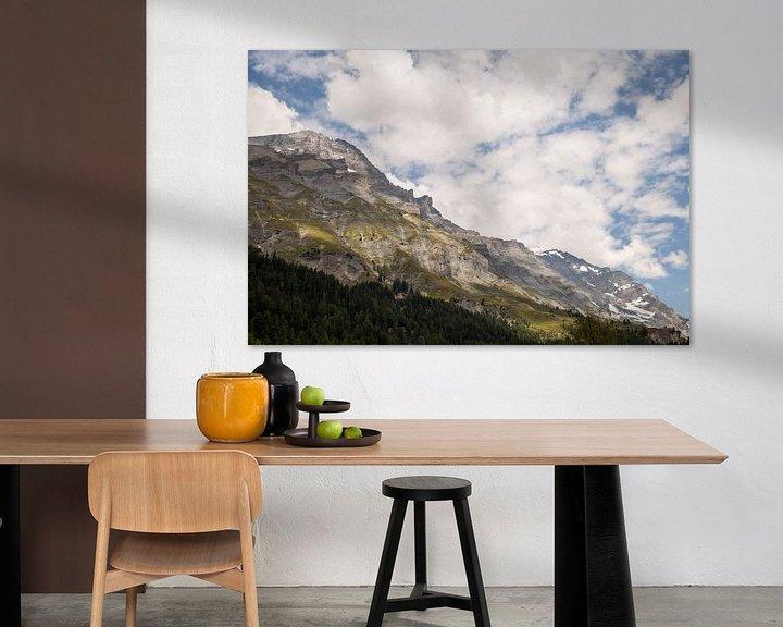 Beispiel: Schweizer Berge von Sander de Jong