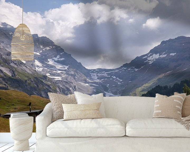 Beispiel fototapete: Gletscher in den Schweizer Alpen von Sander de Jong
