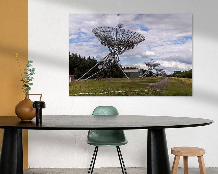 Beispiel: Westerbork Radio-Observatorium von Sander de Jong