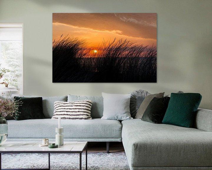 Beispiel: Sonnenuntergang auf Ameland von Sander de Jong