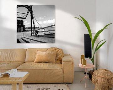 Damiatebrug Dordrecht punt Groothoofd van Dordrecht van Vroeger