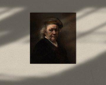 Selbstbildnis, Rembrandt van Rijn