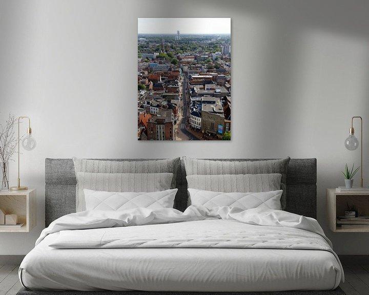 Sfeerimpressie: Oosterstraat Groningen van Sander de Jong