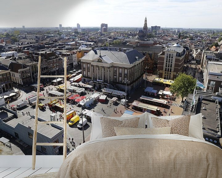 Beispiel fototapete: Rathaus von Groningen von Sander de Jong