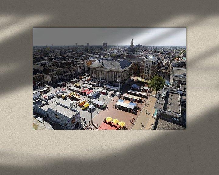Beispiel: Rathaus von Groningen von Sander de Jong