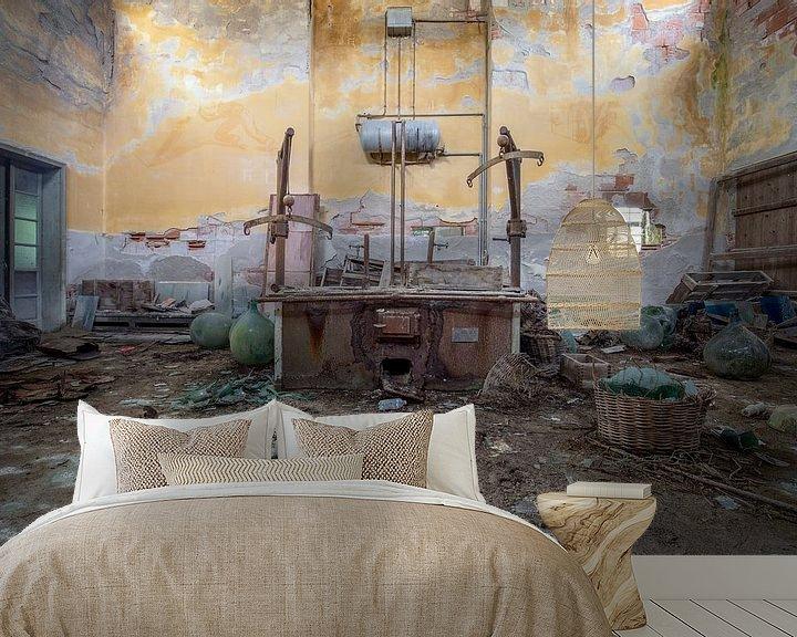 Beispiel fototapete: verlassene Werkstatt von Kristof Ven