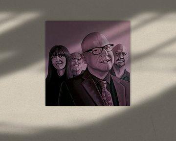 Die Pixies Malerei von Paul Meijering