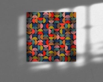 Abstracte samenstelling 720 van Angel Estevez